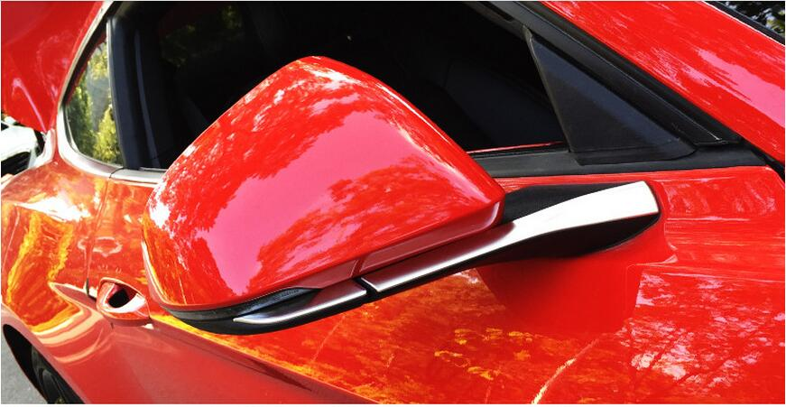 side mirror trim for Ford Mustang car accessories (8)