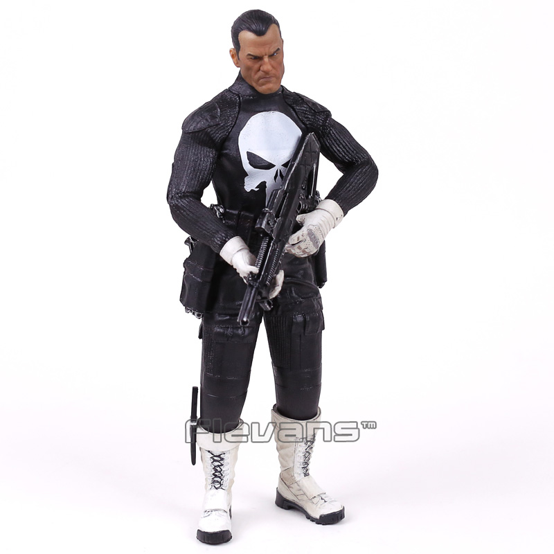 Crazy Toys Punisher Frank Castle 1/6 Scale Collectible Figure Model Toy 12inch 30cm<br>