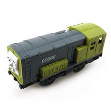 T0203 Electric Thomas and friend Dodge Trackmaster engine Motorized train Chinldren child kids plastic toys gift