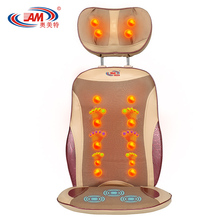 Open back massage chair cover multifunctional massage cushion cervical vertebra massager device neck massage pillow new for sale