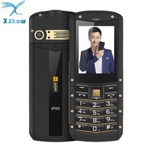 AGM M2 IP68 2G GSM Feature Unlocked Phone Tri-proof 2.4 -Inch SC6531DA 32MB+32MB 0.3MP Rear Camera 1970mAh Battery(China)