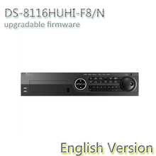 original english version DS-8116HUHI-F8/N Turbo HD DVR Support  HD-TVI, IPC,AHD and analog cameras with adaptive access