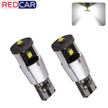 2pcs Pure White w5w T10 Led Bulbs 15W Canbus - 501 Cree Chips high power Lamp car light source DRL interior light DC 12V u20