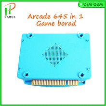 Jamma arcade game pcb 645 in 1 PCB cartridges VGA output for LCD game board arcade bundle ccesorios kit arcade parts