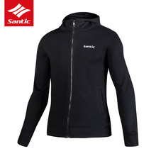 Buy Santic Mens Autumn Winter Cycling Jerseys Thermal MTB Bike Jacket Hooded Long Sleeve Windproof Bicycle Clothing Ropa Ciclismo for $36.24 in AliExpress store