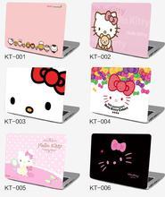 LARGE BIG Notebook computer case film 17inch 17.3 sticker outside protective cover laptop ipad HELLO KITTY sanrio KT skin Decal
