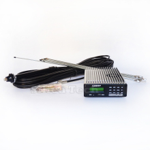 CZE-15b 15W stereo PLL FM transmitter broadcast radio station + GP1 outdoor antenna + Power supply + MIC Kit