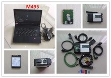 mb star diagnosis C5 with laptop m495 hdd software engineer mode full set ready to use wifi and offline programmer