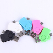 NOYOKERE Mini USB Card Reader OTG Micro USB TF Card USB 2.0 Memory Card Adapter High Quality Connection Kit For PC Smartphone(China)
