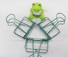 8 colors big size 50mmx95mm metal binder clips paper clip office stationery binding supplies 1 piece green clor(China)
