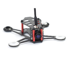 HOBBYMATE Micro Indoor fpv Quadcopter 95mm Carbon Fiber Frame Kit - Support 8520 Motor 1S and 2S(China)