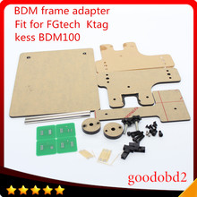 BDM frame With full Aapters Works BDM Programmer/CMD100 Full Sets Fits For FGtech KESS bdm100 use for ktag k-tag ECU tool A(China)