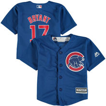 MLB Infant Chicago Cubs Kris Bryant Baseball Alternate Royal Official Cool Base Player Jersey