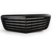 2007-2009 Matt Black Front Hood Grille Grill For Mercedes Benz W211 Sedan
