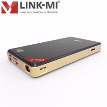 LINK-MI H96-P(1G+8G) Full HD DLP Smart Android Projectors 1G 8G Multimedia Video LED Pocket Bluetooth 3D 4k wireless
