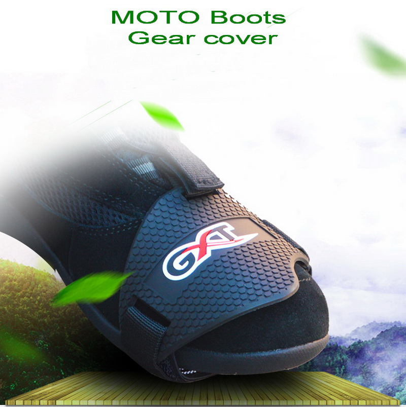 GXT motorcycle linked to file shoes plastic shift rubber riding shoes Gear cover care protection sets Motorbike Boots Protector
