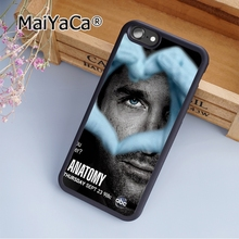 MaiYaCa Unique greys anatomy 12 Soft Rubber cell phone Case Cover For iPhone 7 phone cover shell(China)