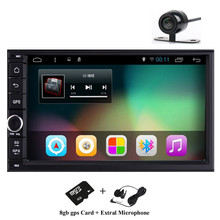 "7"" 2Din 1024*600 Android 5.1 Car Tap PC Tablet 2 din Universal For Nissan GPS Navigation BT Radio Stereo Audio Player(No DVD)"