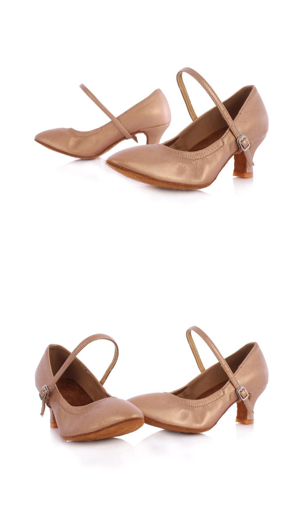 Hot Selling Latin Dancing Shoes For Women Soft Bottom Tango Shoes 57Cm Modern Salsa Dance Shoes Female Ballroom Dancing Shoes (12)