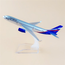 HOT! Free Shipping! 16cm Metal Air Aeroflot Russian Airlines Airplane Model Airbus 330 A330 Airways Plane Model w Stand Aircraft