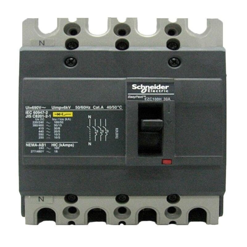 EZC100H4030 Circuit Breaker Easypact EZC100H TMD 30A 4P 30KA 400/415V<br><br>Aliexpress