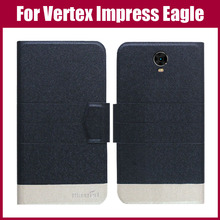 Vertex Impress Eagle Case New Arrival 5 Colors Fashion Flip Ultra-thin Leather Protective Cover For Vertex Impress Eagle Case