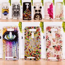 "DIY Painted Soft TPU & Hard Plastic Mobile Phone Cover For Asus Zenfone2 Laser ZE500KL 5"" Cell Phone Case Fashion Pictures Cover"