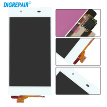 Display For Sony Xperia Z5 E6683 E6653 E6603 LCD Touch Screen Digitizer Replacement Assembly Parts 5.0 Inch Black White
