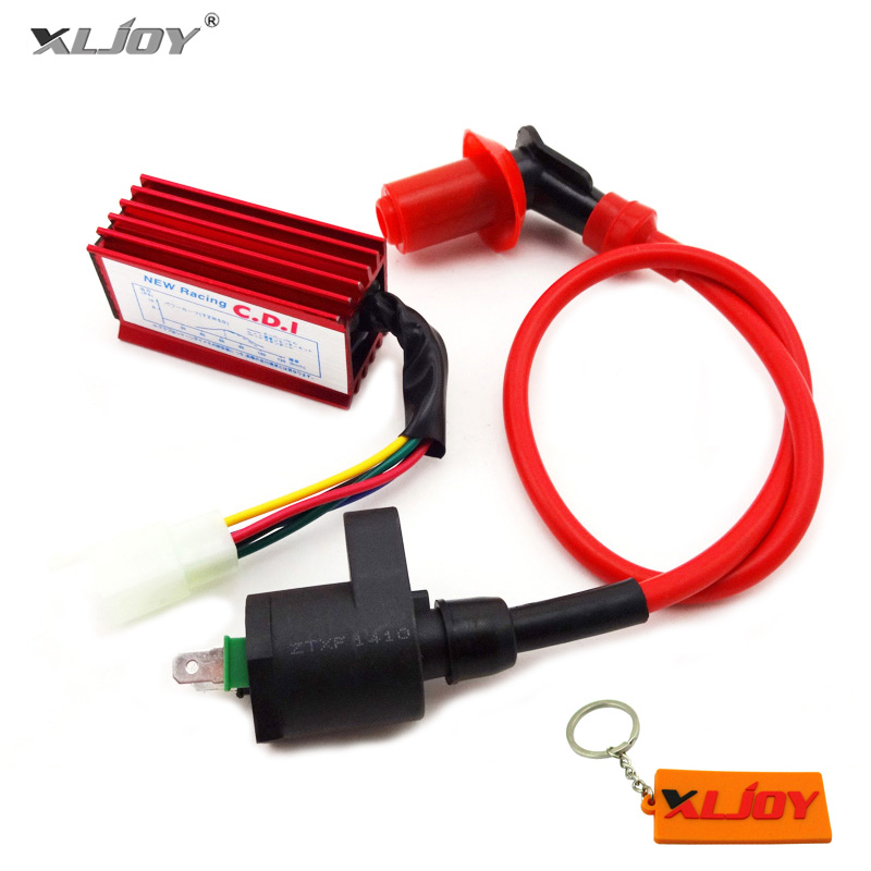 Ignition Coil For GY6 50cc 125cc 150cc Honda Moped Scooter Honda DIO Elit SA50