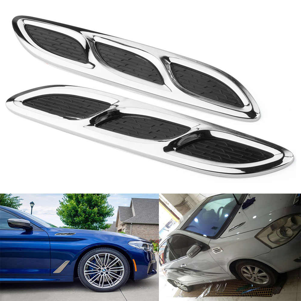 Detail feedback questions about universal car hood side air flow vent fender decorative sticker decals auto styling accessories for volkswagen audi ford bmw