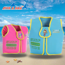 Boy Girls Child Kids Swimming Sailing Floating Zip Vest Buoyancy Aid Life Jacket  ST-704