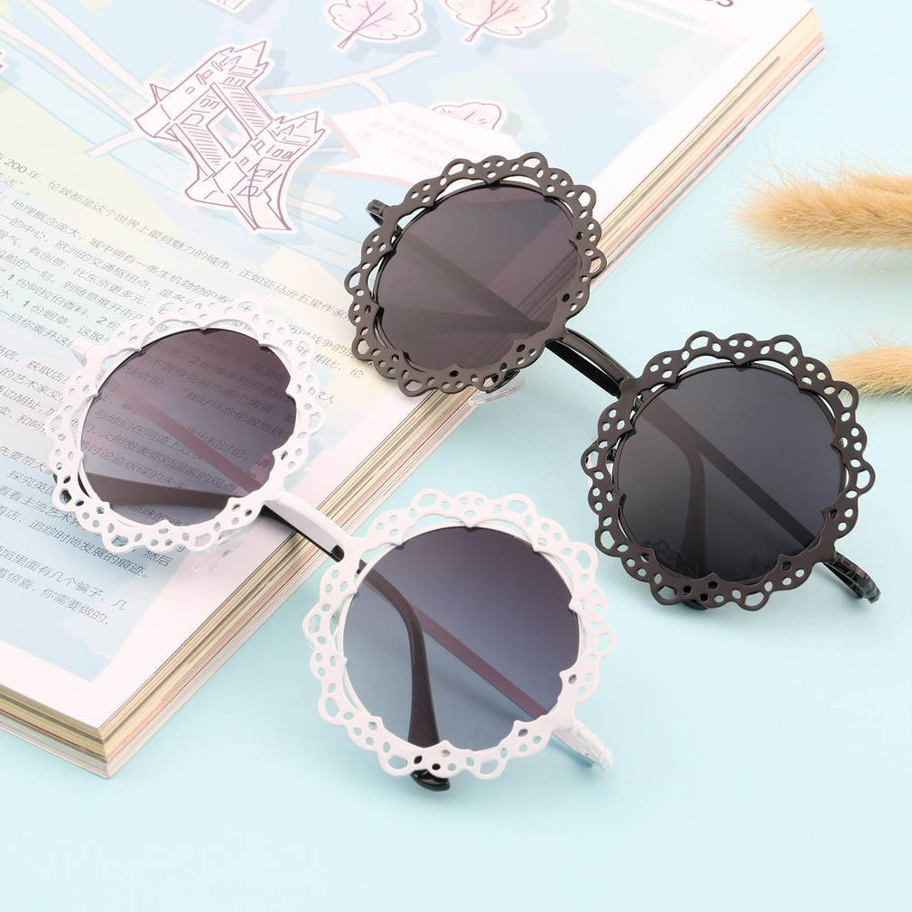 New Arrival Women Fashionable Grid Hollowed-out Sunglasses Retro Metal Sun Glasses Hot<br><br>Aliexpress