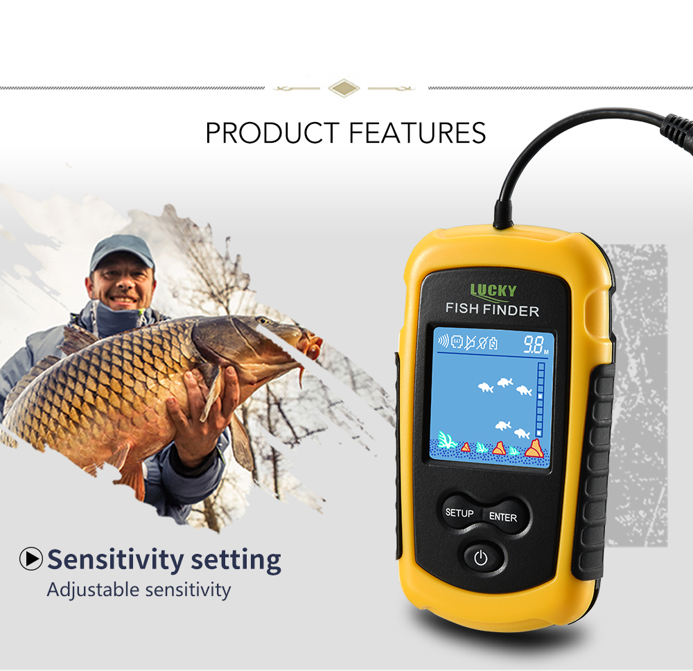 Findfish Wireless Portable Sonar Fish finder (2)
