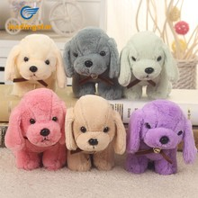 LeadingStar Cute PP Cotton Pet Plush Toy Lovely Gog Doll Toy with a Bell Fine Workmanship Multiple Colors ZK30(China)