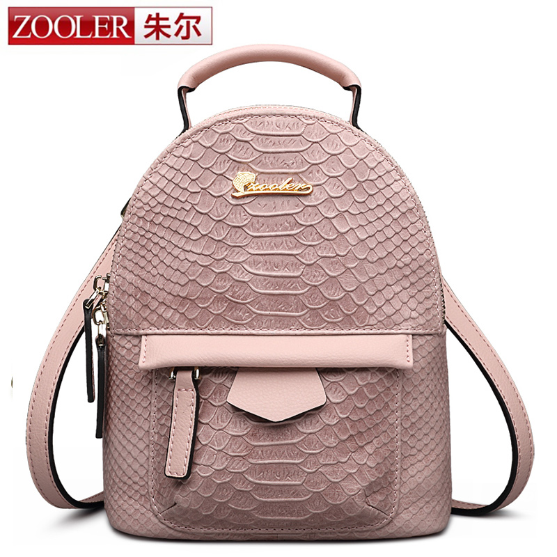 HOT &amp;high end backpack!Zooler women leather backpack versatile superior cowhide genuine leather backpacks stylish 2016 for lady<br><br>Aliexpress