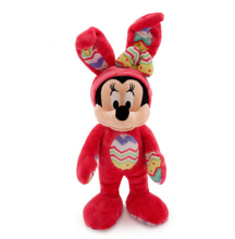 Easter Mickey Mouse Stuffed Animal Plush Toys Red Mickey Mouse Plush Toys For Kids Girl Gift(China)