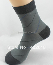 5 Pairs/Lot, New arrival, Bamboo fibre socks, Luxury Men socks, 5 Colors Mix, 39-43 Yards(China)