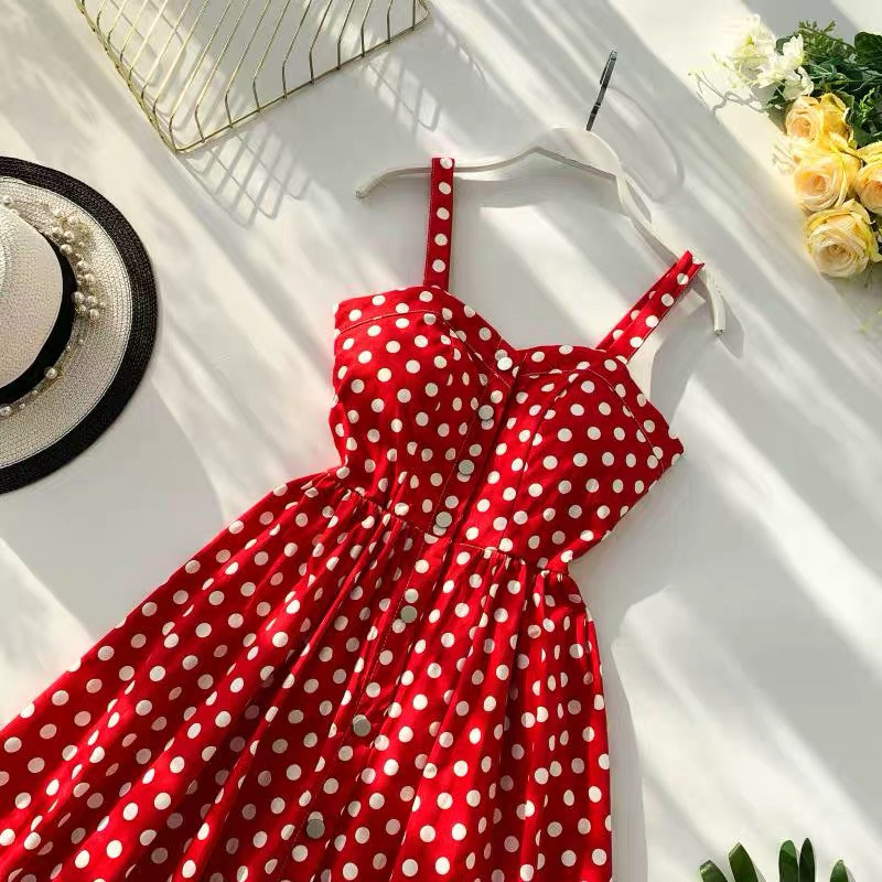 Marwin 19 New-Coming Summer Women Spaghetti Strap Print Floral Sleeveless Empire Beach Dresses High Street Style 6