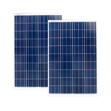 Solar Panel 200w Free Shipping Solar Plate 12V 100W  2 Pcs/Lot Solar Battery 12 Volts Motorhomes Garden Decoration Fountain