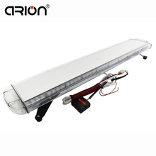 "CIRION Newest 47"" 88 Led emergency strobe lights Car truck Work Light bar Emergency Warning Lightbar Lamp 12V/24V Blue Color(China)"