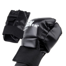 Europe USA Hot sales Thai Training Boxing Glove Boxing Gloves PU Leather Half Mitts Mitten Muay(China)