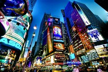 Times Square new york usa city cities neon lights cloth silk art wall poster and prints