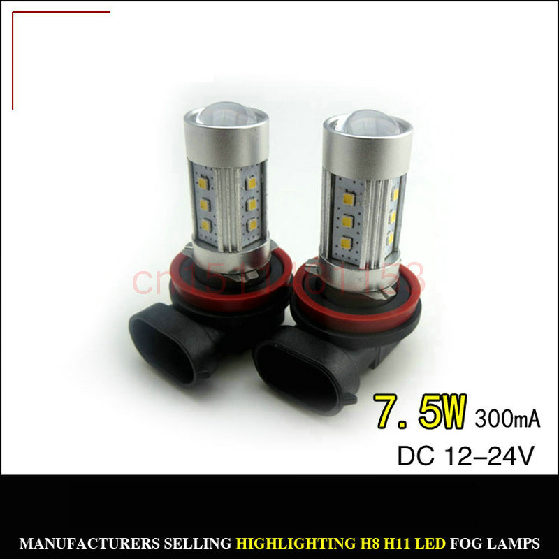 Free Shipping 2pc/lot Car Led Lamp Fog lamps For HYUNDAI i40 (VF) 2012+<br><br>Aliexpress