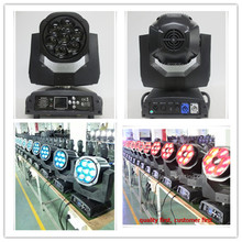 Free shipping 2017 new product Point control 7*15w rgbw Bee Eye K7 led b eye moving head wash zoom light