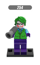 2XH 254 Building Blocks Super Heroes Joker Harley Quinn Deadshot Poison Ivy Catwoman Models Bricks Children Gift Toys - Minifigures store