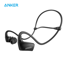 Anker SoundBuds Sport NB10 Bluetooth Headphones, IPX5 Sweat-Proof Bluetooth Headsets with Adjustable Neckband, Sport Earbuds(China)