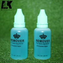 2 bottle 30ml adhesive remover for Skin tape hair/ PU skin weft hair extensions