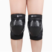Free shipping Skiing knee Cross-country extreme sports safety Environmental Polymer / EVA / Nylon/PVC knee protection