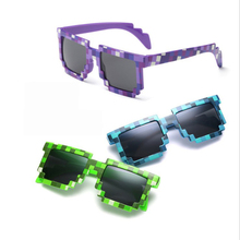 3 Color Sunglasses Kids Cosplay Action Figure Game Toys Square Glasses Gifts for Children Super stick