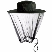 Anti-mosquito Head Net Cover Prevent Bug Insect Bee Mosquito Mesh Net Head Protect Hat Outdoor Fishing Camping Hunting Supplies(China)